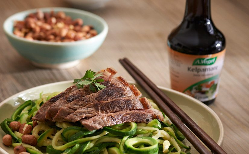 Speedy Asian Beef and Noodle Bowls
