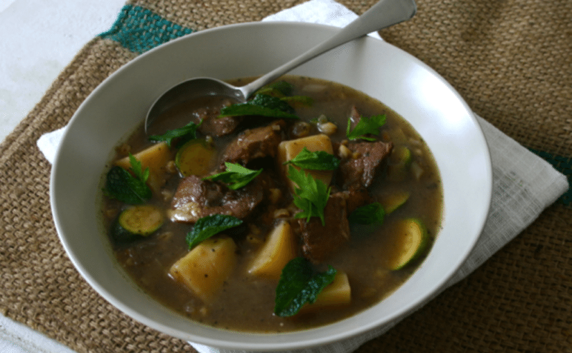 Roast Lamb and Barley Soup, And A Gourmand Awards Nomination