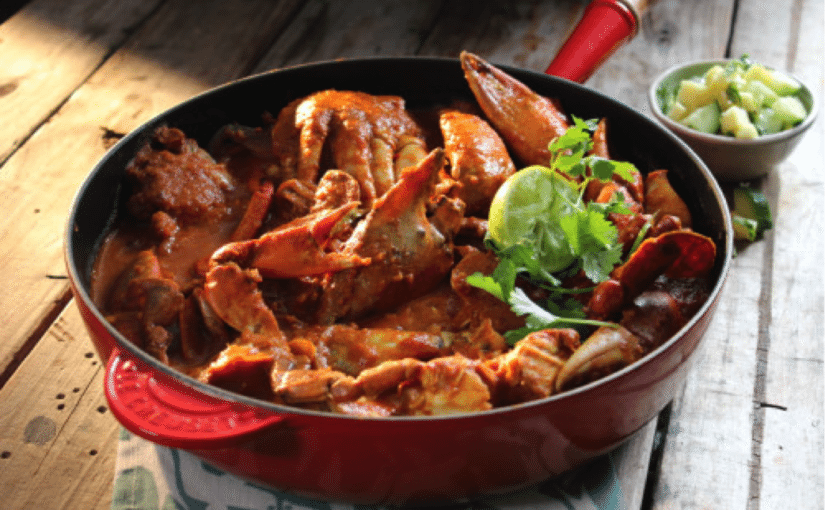 South-Indian Style Crab Curry