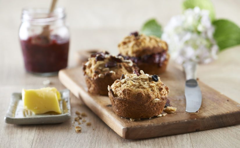 Cosy Apple and Cinnamon Muffins (Refined Sugar-Free)