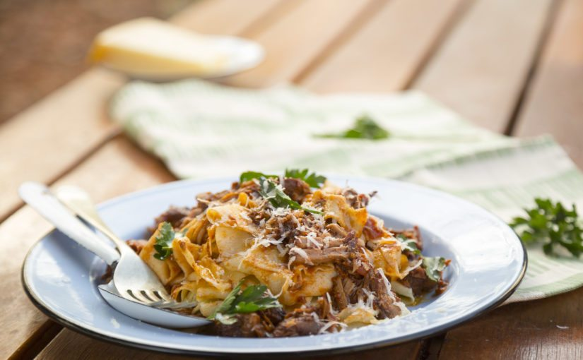 Lamb Ragu with Home-made Pappardelle